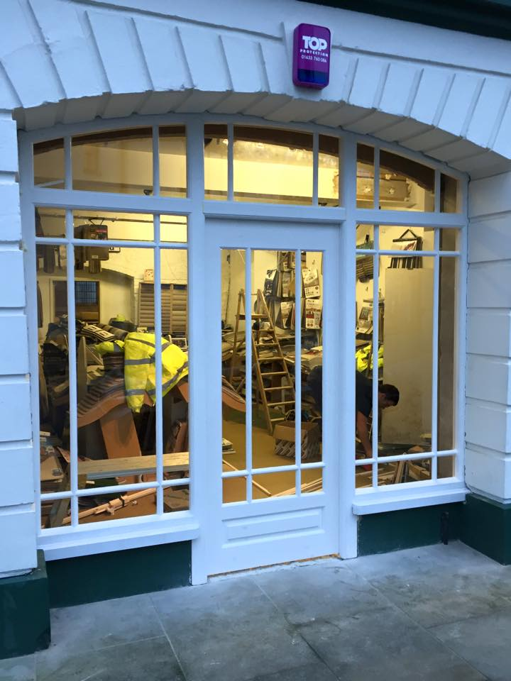 Shop Front with Glazing Bars