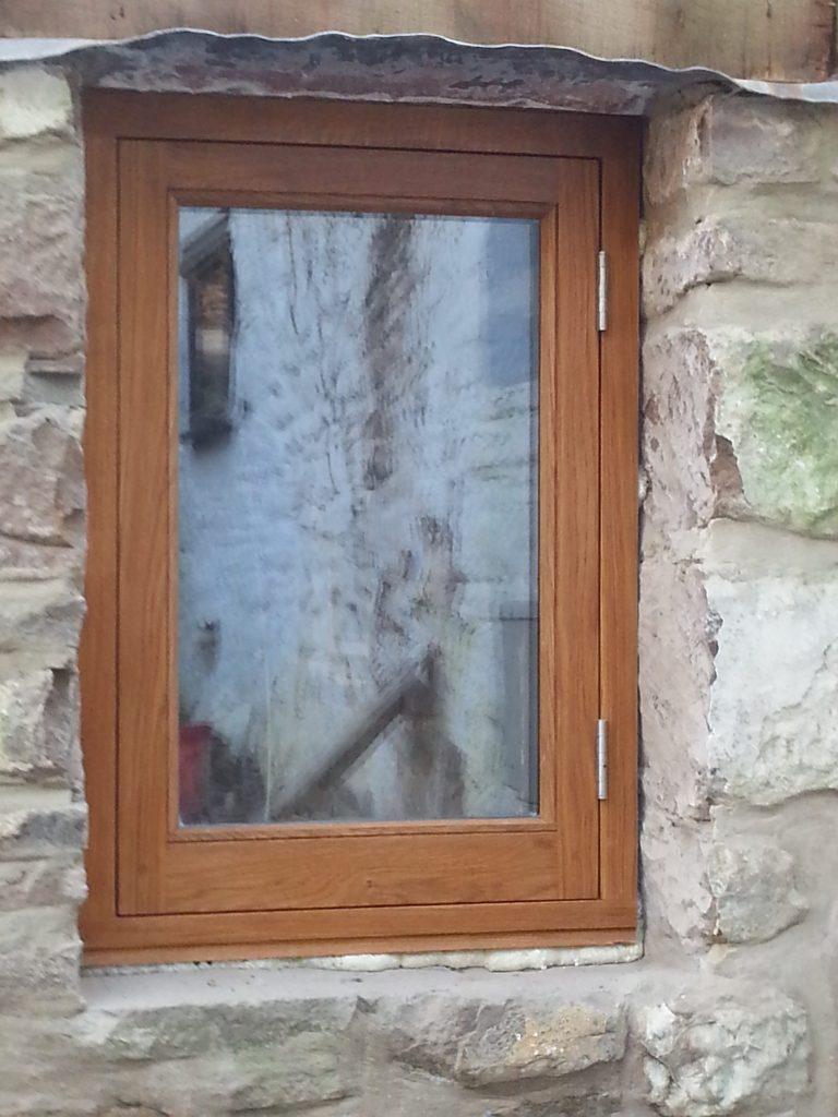 European Oak Side Hung Casement Window