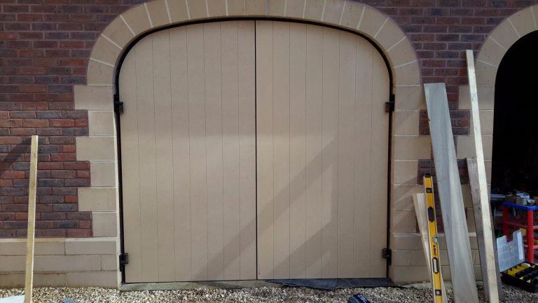 Tricoya Waterproof MDF Garage Doors