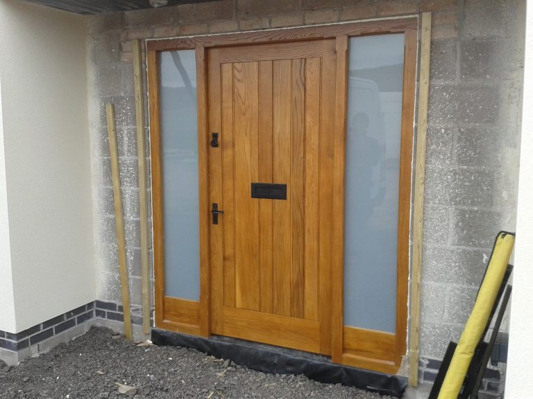 European Oak Door Screen