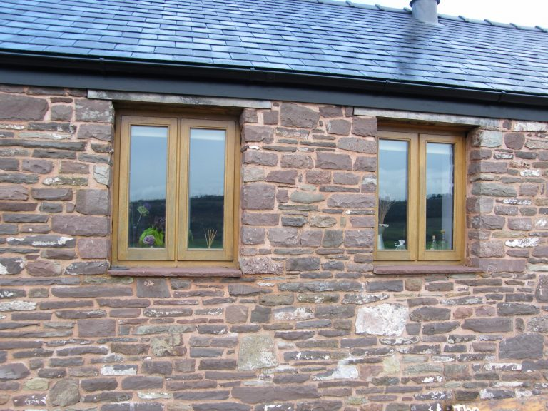 Storm Proof Window Pairs in European Oak