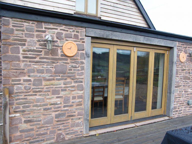 4 Leaf European Oak Bi Fold Door
