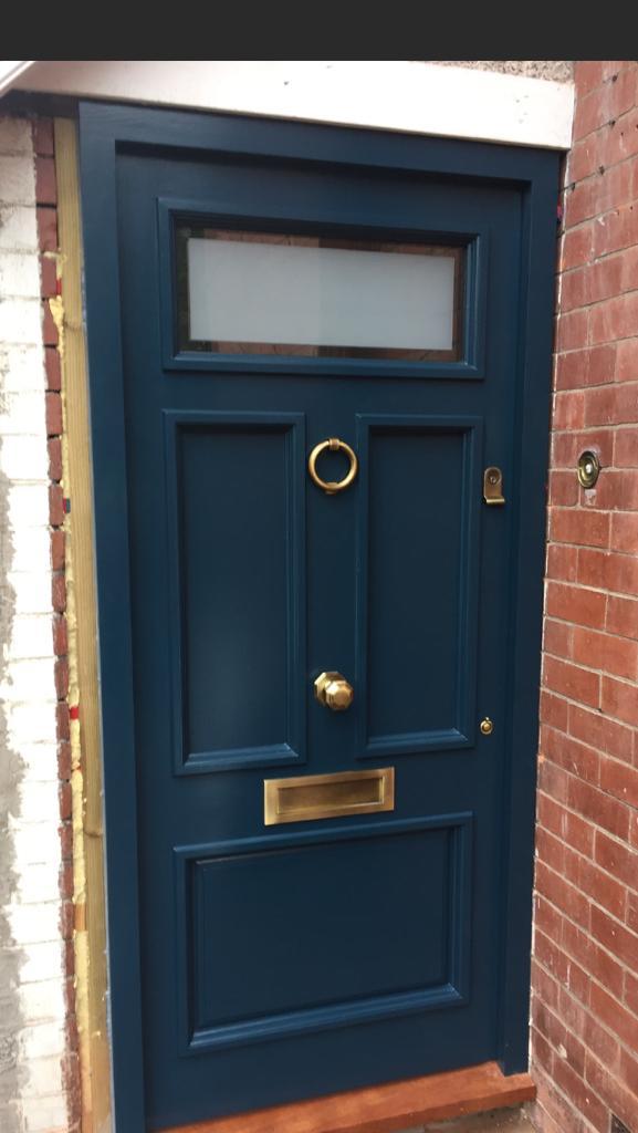 Sapele Raised Panel Door